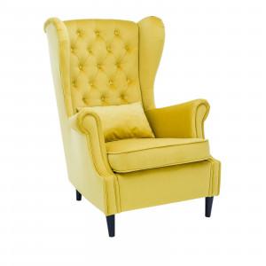 Кресло Leset Винтаж V28 желтый