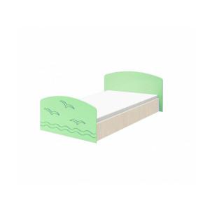 Детская кровать Юниор-2 салатовый