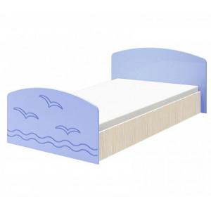 Детская кровать Юниор-2 голубой