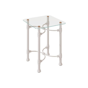Прикроватный стол Dreamline кованый квадратный