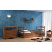 Детская кровать Dreamline Юниор ясень
