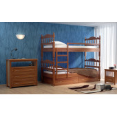 Двухъярусная кровать Dreamline Юниор 2 ясень