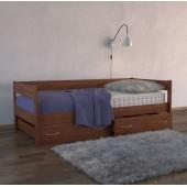 Кровать тахта Dreamline с ящиками ясень