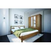Кровать Dreamline Троя 1 ясень
