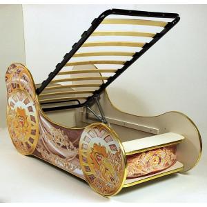 Кровать машинка детская ВиВера Карета мини
