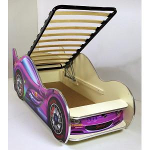 Кровать машинка детская ВиВера Премиум Спорткар