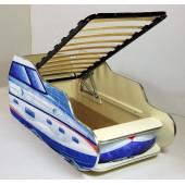 Кровать машинка детская ВиВера Катер