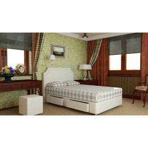 Двуспальная кровать с матрасом Mr.Mattress Set R