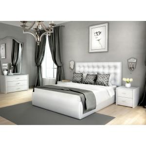 Кровать Lonax с мягким изголовьем Аврора