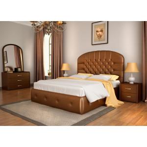 Кровать Lonax Венеция с мягким изголовьем