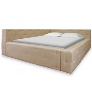 Кровать ВМК Шале из экокожи Мирабелла