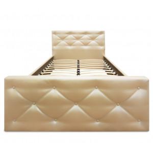 Кровать ВМК Шале из экокожи Сантана