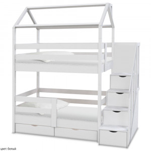 Детская кровать домик ВМК Шале Блум