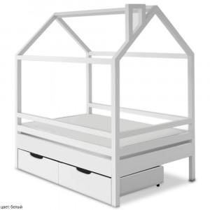 Детская кровать домик ВМК Шале Пеппи