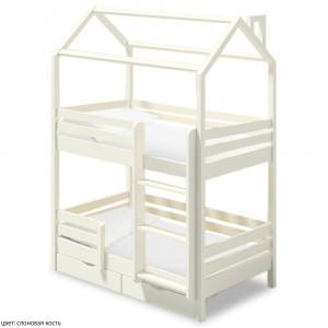 Детская кровать домик ВМК Шале Твинкл