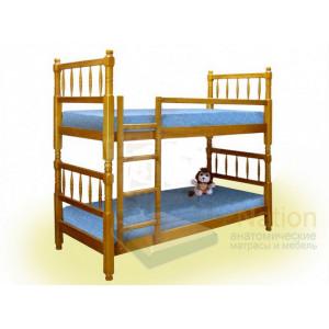 Двухъярусная детская кровать Шале Наф-Наф