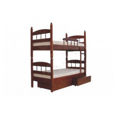 Двухъярусная детская кровать Шале Кузя-2