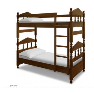 Двухъярусная детская кровать Шале Ниф-Ниф