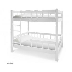 Двухъярусная детская кровать Шале Штиль