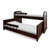 Детская выдвижная кровать Шале Мурзилка