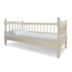 Детская деревянная кровать Шале Смайл 3 спинки