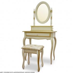 Туалетный столик ВМК Шале из дерева Розалия