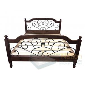 Кровать из сосны ВМК Шале Мишель