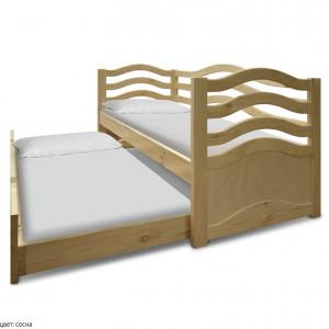 Детская выдвижная кровать Шале Бриз-2