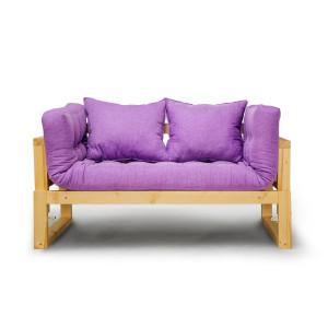 Кушетка AnderSon Амбер фиолетовый