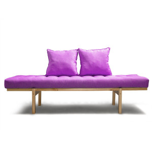 Кушетка AnderSon Яспер фиолетовая