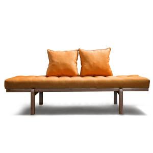 Кушетка AnderSon Яспер оранжевая