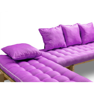 Кушетка AnderSon Яспер Дабл фиолетовая