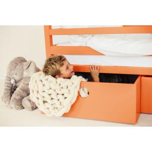 Детская кровать домик AnderSon Дрима BOX оранжевая