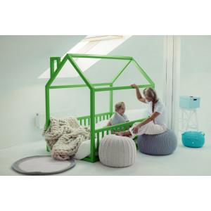 Детская кровать домик AnderSon Дрима МБ зеленая