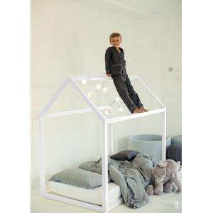 Детская кровать домик AnderSon Дрима Base (белая)