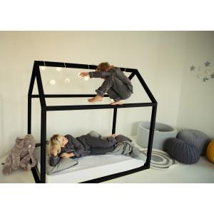 Детская кровать домик AnderSon Дрима Base (черная)