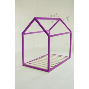 Детская кровать домик AnderSon Дрима Base (фиолетовая)