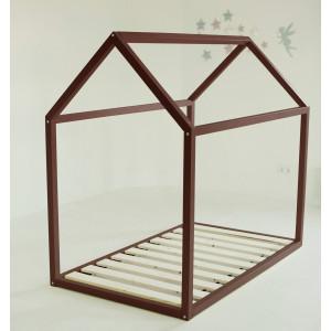 Детская кровать домик AnderSon Дрима Base (коричневая)