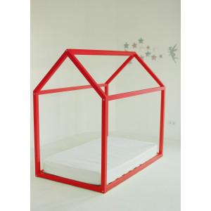 Детская кровать домик AnderSon Дрима Base (красная)