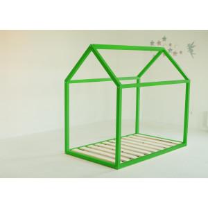 Детская кровать домик AnderSon Дрима Base (зеленая)