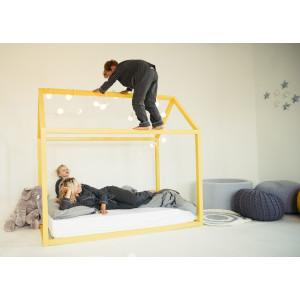 Детская кровать домик AnderSon Дрима Base (желтая)