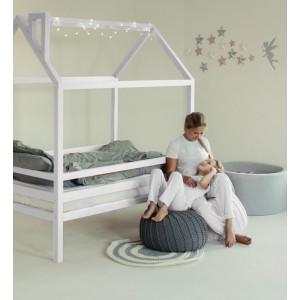 Детская кровать домик AnderSon Дрима H (белая)