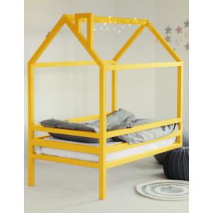 Детская кровать домик AnderSon Дрима H (желтая)