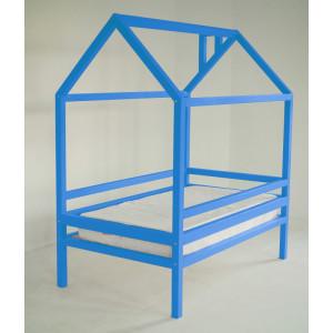 Детская кровать домик AnderSon Дрима H (голубая)