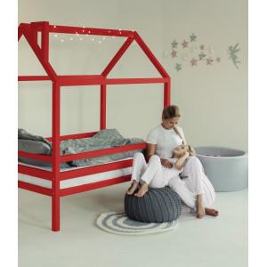Детская кровать домик AnderSon Дрима H (красная)