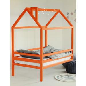 Детская кровать домик AnderSon Дрима H (оранжевая)