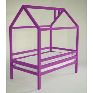Детская кровать домик AnderSon Дрима H (фиолетовая)