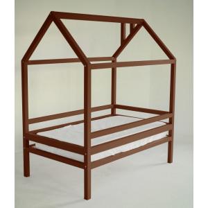 Детская кровать домик AnderSon Дрима H (коричневая)