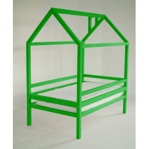 Детская кровать домик AnderSon Дрима H (зеленая)