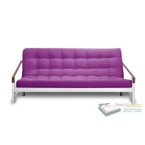 Диван AnderSon Локи книжка белая эмаль фиолетовый